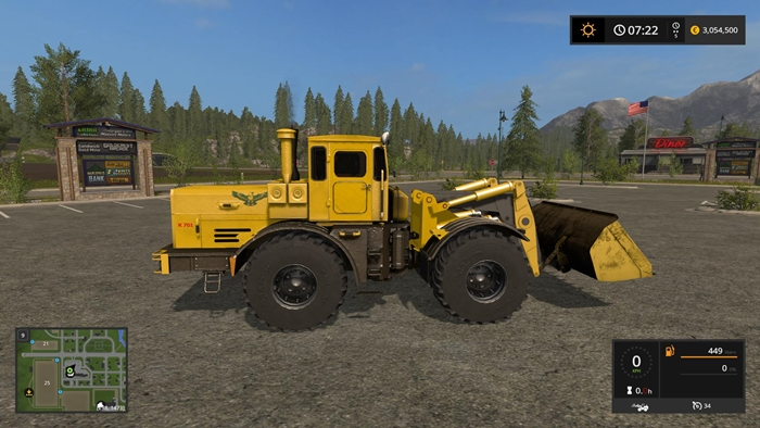 Photo of FS17 – K-700 Kirovets Traktör V2.1