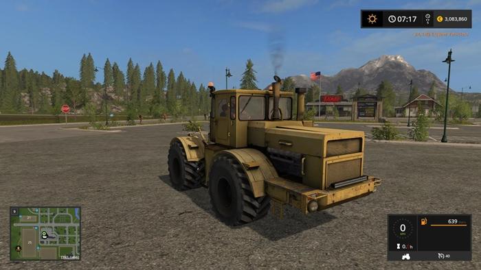 Photo of FS17 – Kirovez K-700 Traktör V1.1