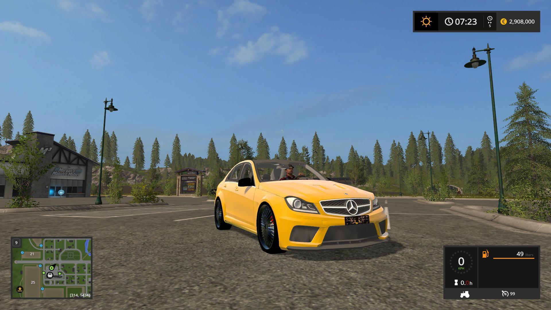 Photo of FS17 – Mercedes Benz C63 Amg V1.0