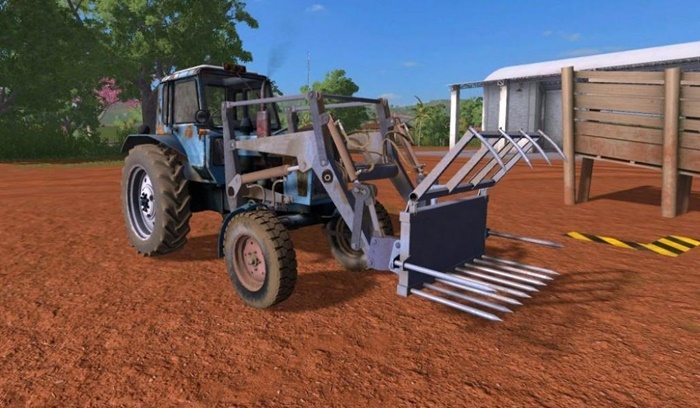 Photo of FS17 – MTZ-80 Traktör V1.0