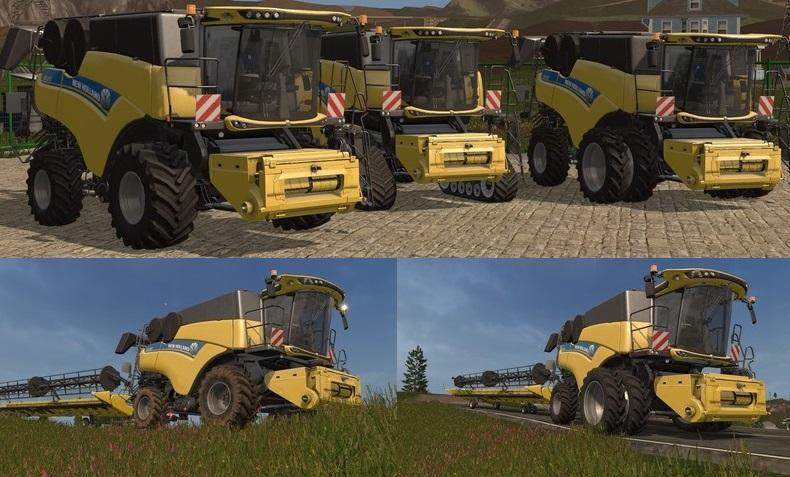 Photo of FS17 – New Holland CR10.90 WS Biçer Döver V1.0