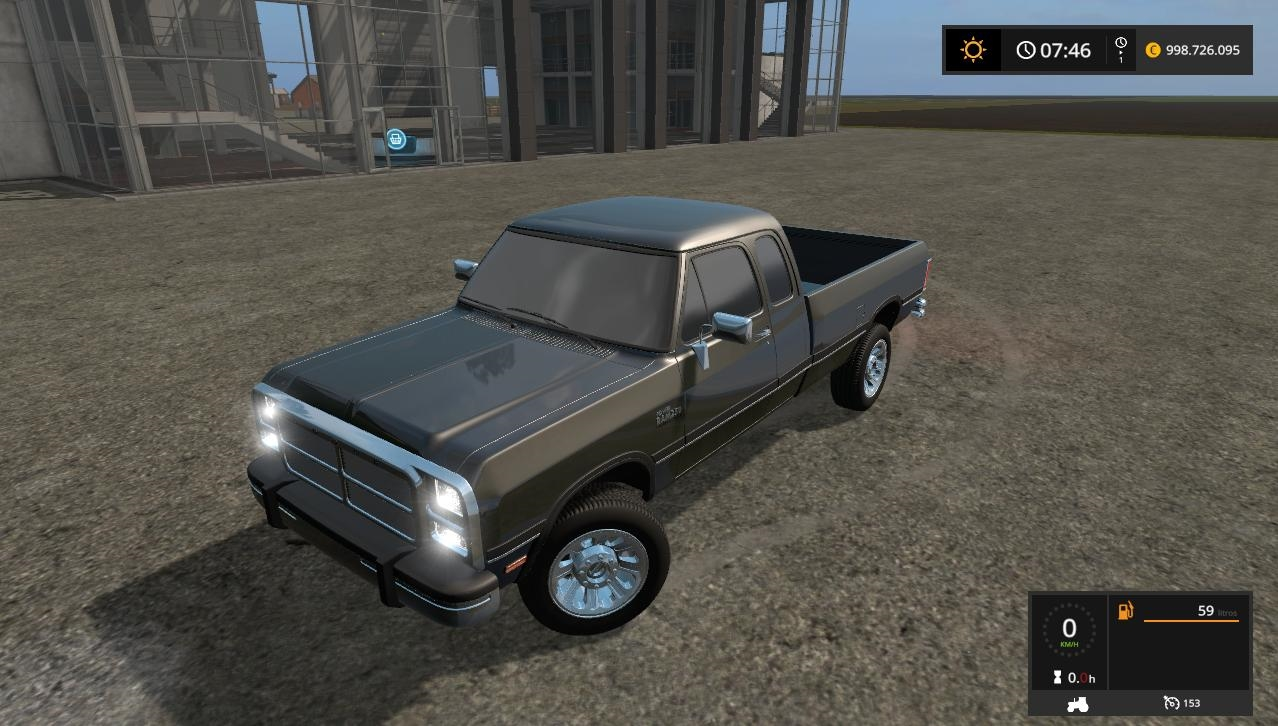 Photo of FS17 – Dodge Ram W250 Cummins V1.0