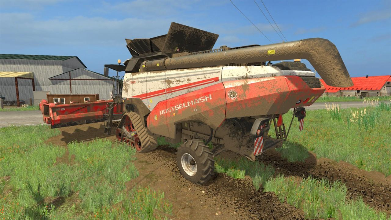 Photo of FS17 – Rostselmash Torum 770 Biçerdöver