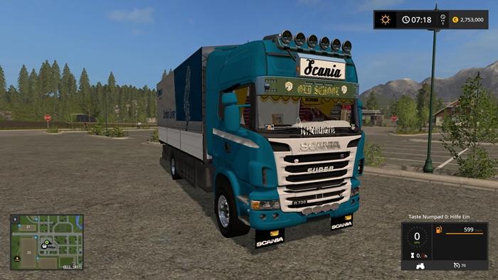 Photo of FS17 – Scania R730 Kamyon Modu V1.1.0