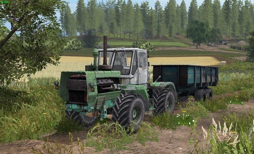 Photo of FS17 – T-150K Yeşil Traktör V1.0