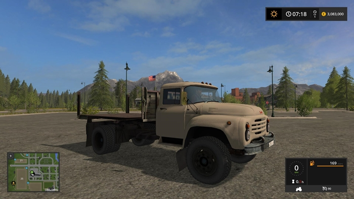 Photo of FS17 – Zil 130 Flatbed V1.0