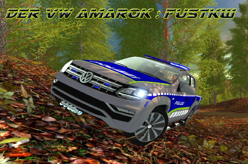Photo of FS17 – Volkswagen Amarok Polis Arabası V0.9