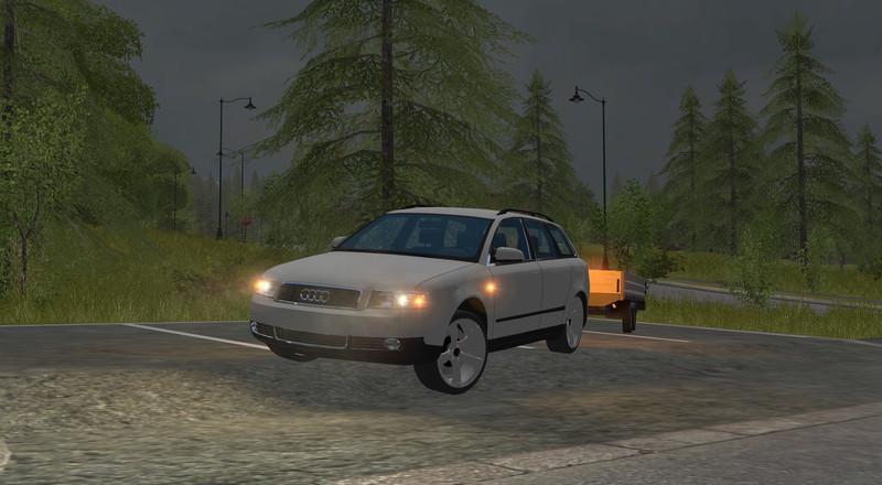 Photo of FS17 – Audi A4 v1.0