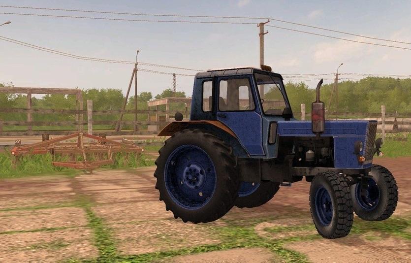 Photo of FS17 – Belarus 80 MTZ Traktör V1.0