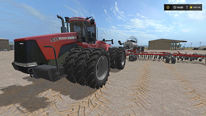 Photo of FS17 – Case IH Steiger 535 Traktör Beta