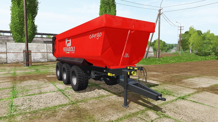 Photo of FS17 – Feraboli Cargo Damperli Römork v1.0.0.2