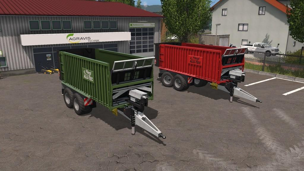 Photo of FS17 – Fliegl ASW 271 Römork V1.3