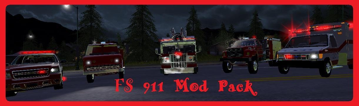 Photo of FS17 – FS 911 Mod Paketi V1.0