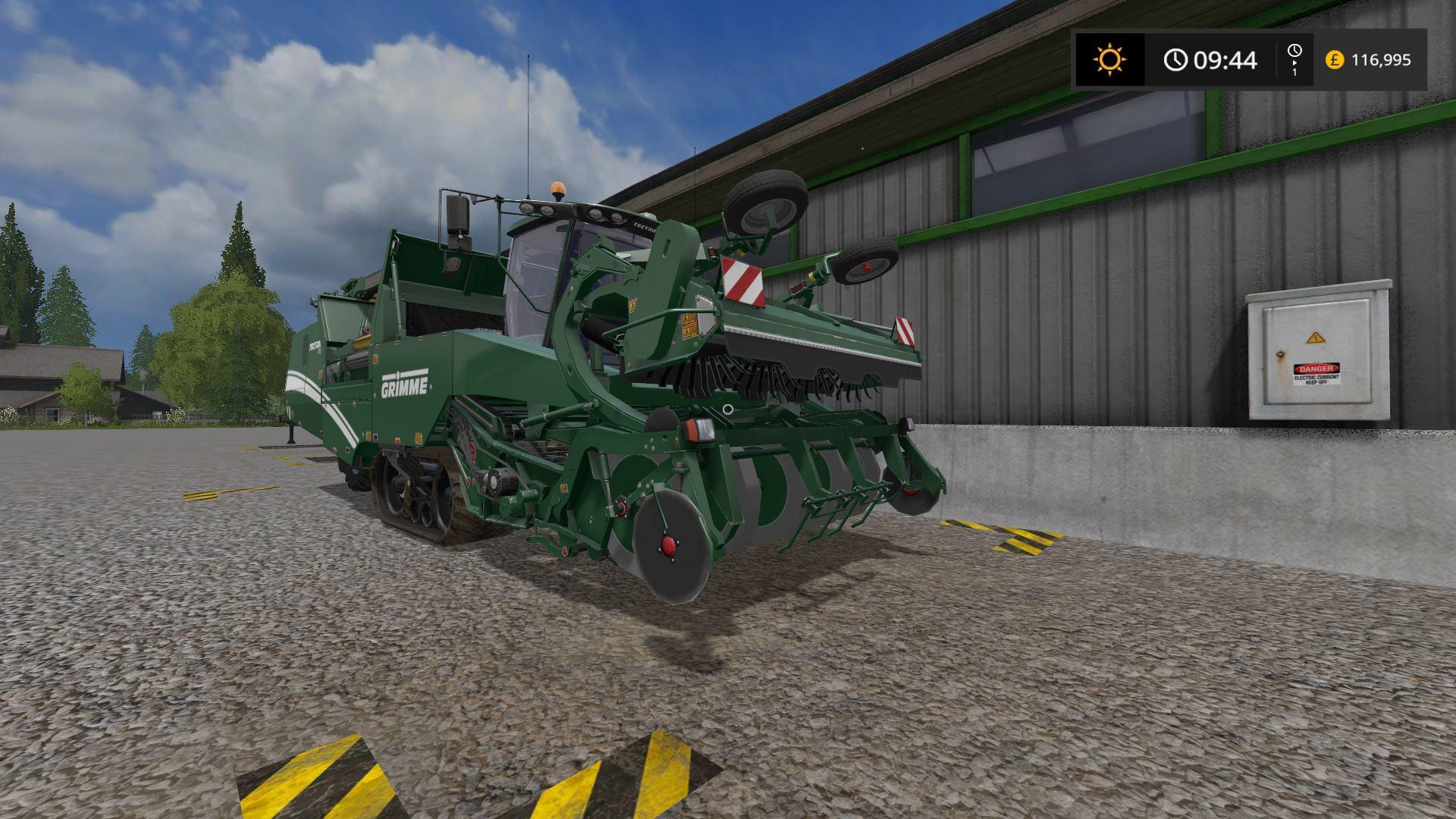Photo of FS17 – Grimme Tectron 415