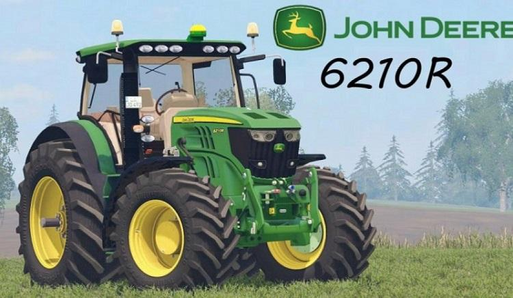 Photo of FS17 – John Deere 6210R V2.0