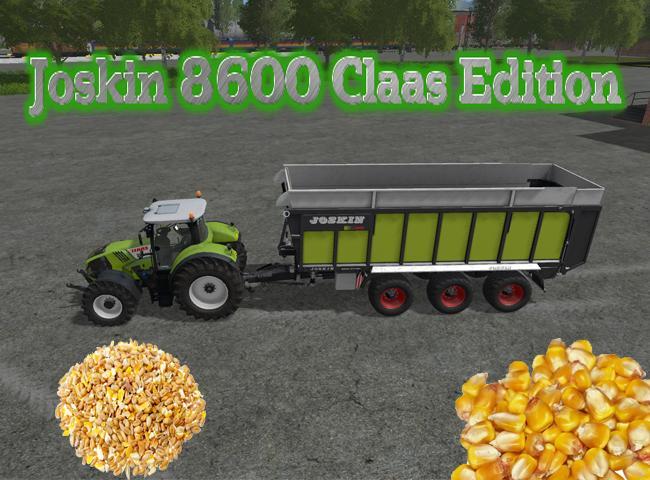 Photo of FS17 –  Joskin 8600 Claas Edition V 1.3