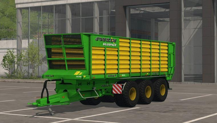 Photo of FS17 – Joskin Silospace 26/50 Römork V1.0