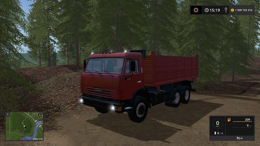 Photo of FS17 – Kamaz 45143 + Nefaz 8360 Römork V1.0