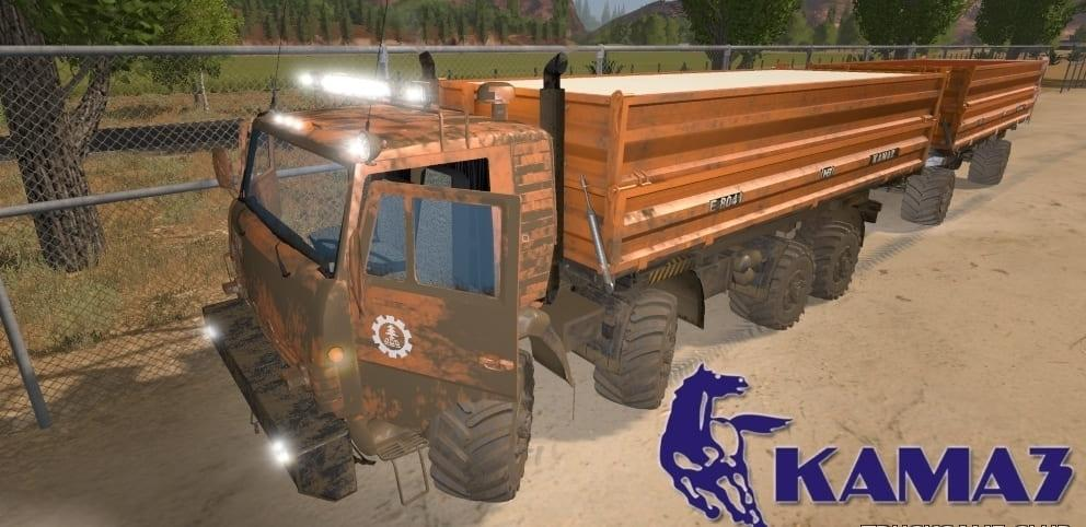Photo of FS17 – Kamaz 6350 8×8 Kamyon Modu V1.1