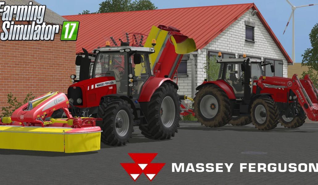Photo of FS17 – Massey Ferguson 5465 Traktör V1.0