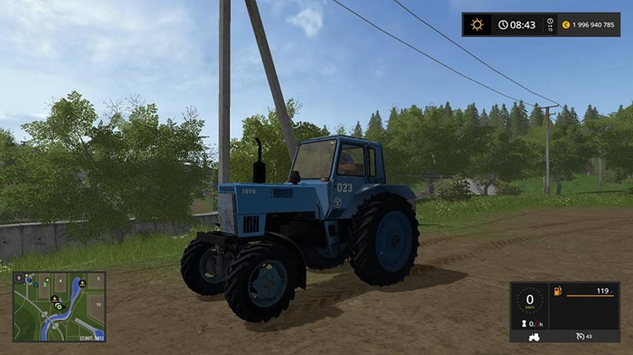 Photo of FS17 – MTZ-82 1976 V1.0