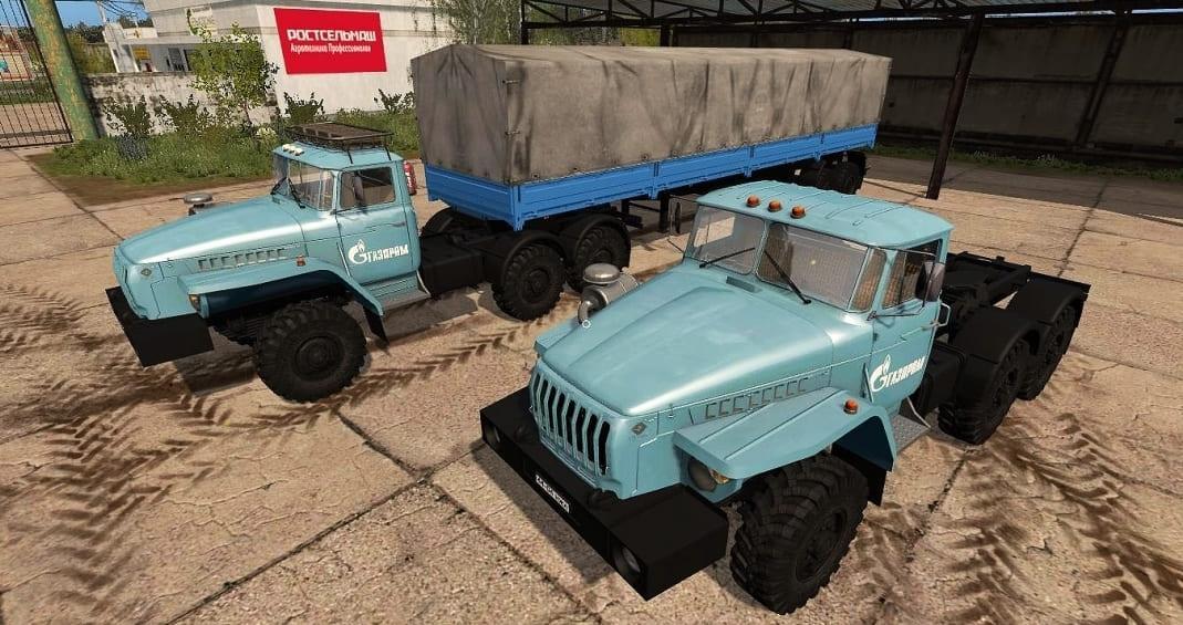 Photo of FS17 – Ural 4320 + Nefaz 9334-20–16 V1.0
