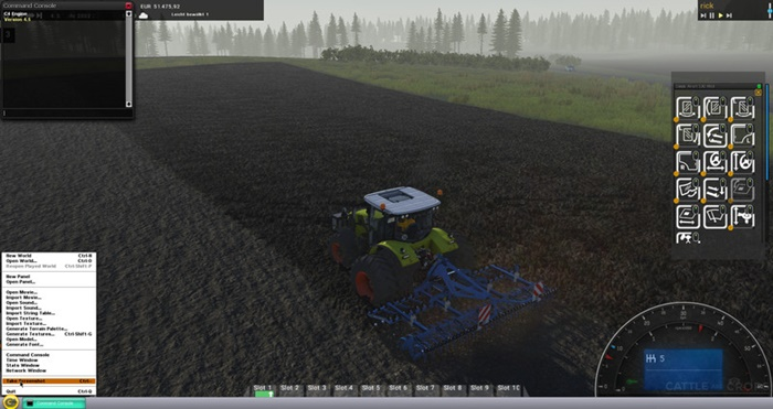 Photo of Cattle And Crops – Claas Arion 530 Traktör + İkiz Tekerlekler V0.9