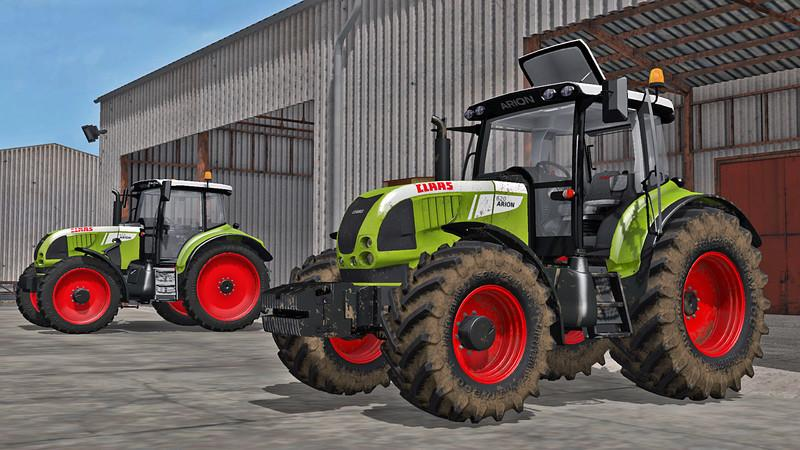 Photo of FS17 – Claas Arion 600 Traktör V4.0