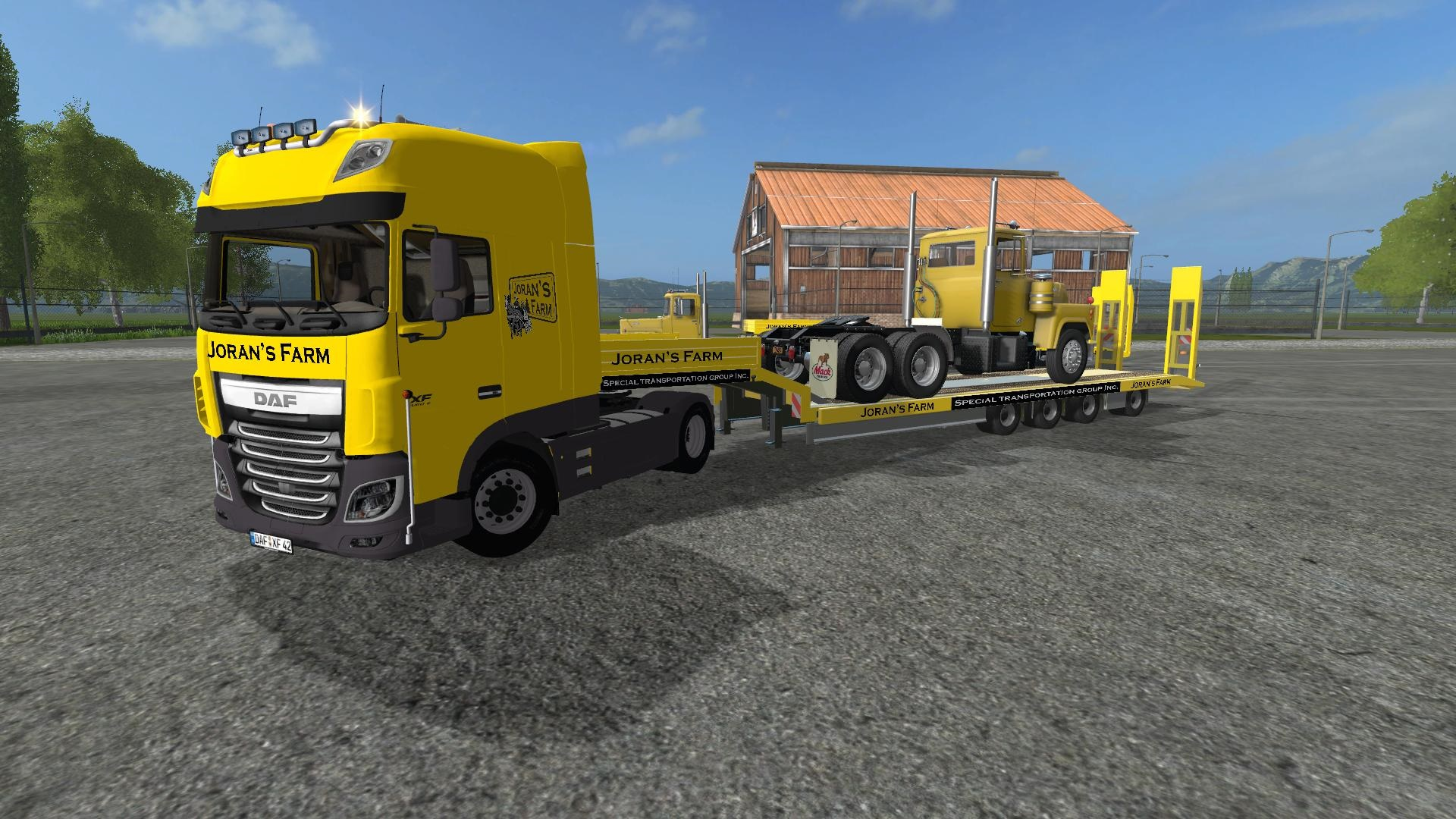 Photo of FS17 – DAF XF 510 E6 6 Kamyon Modu V1.0