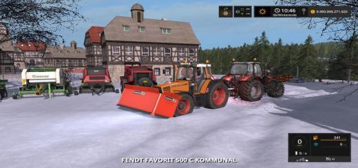 Photo of FS17 – Fendt Favorit 500C Kommunal Traktör V1.0