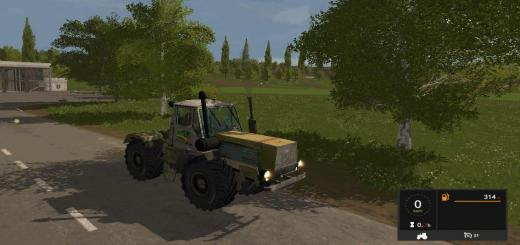 Photo of FS17 – Htz T150K Traktör V1.3