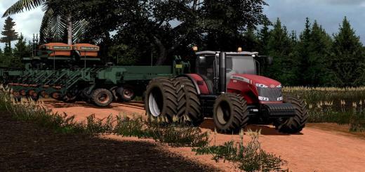 Photo of FS17 – Massey Fergusson 8670 Dynavt Traktör V1.1