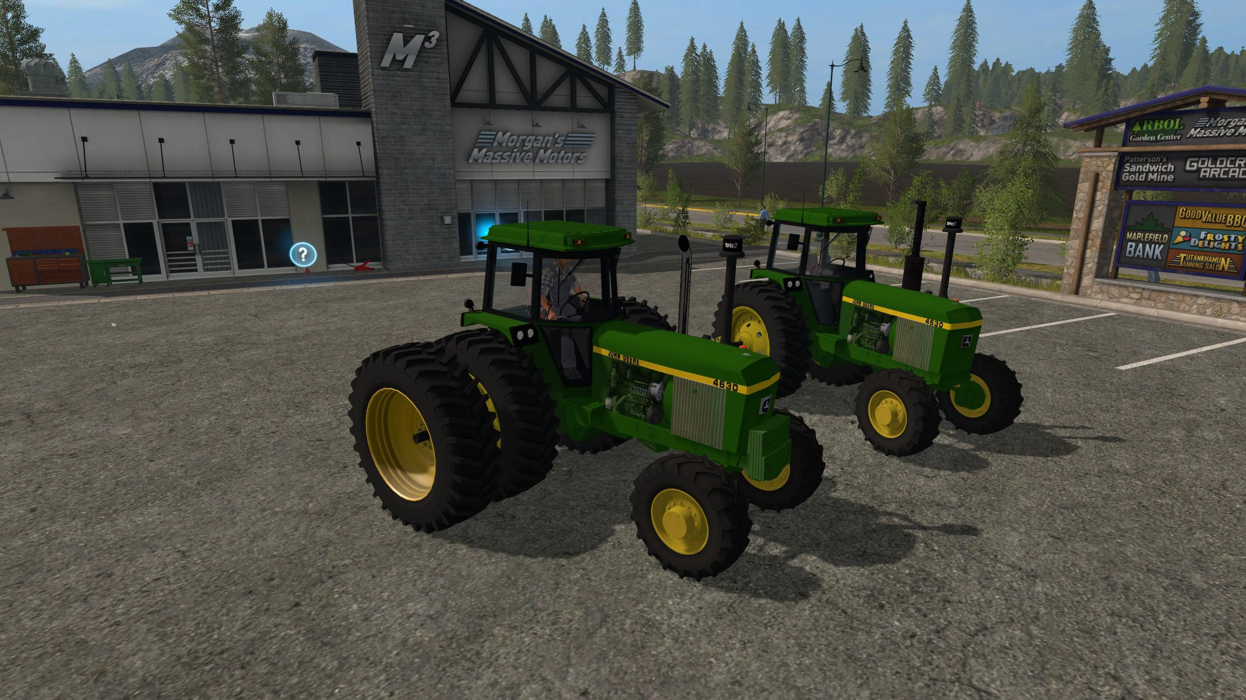 Photo of FS17 – John Deere 4630 Serisi 2WD/FWA V3.0