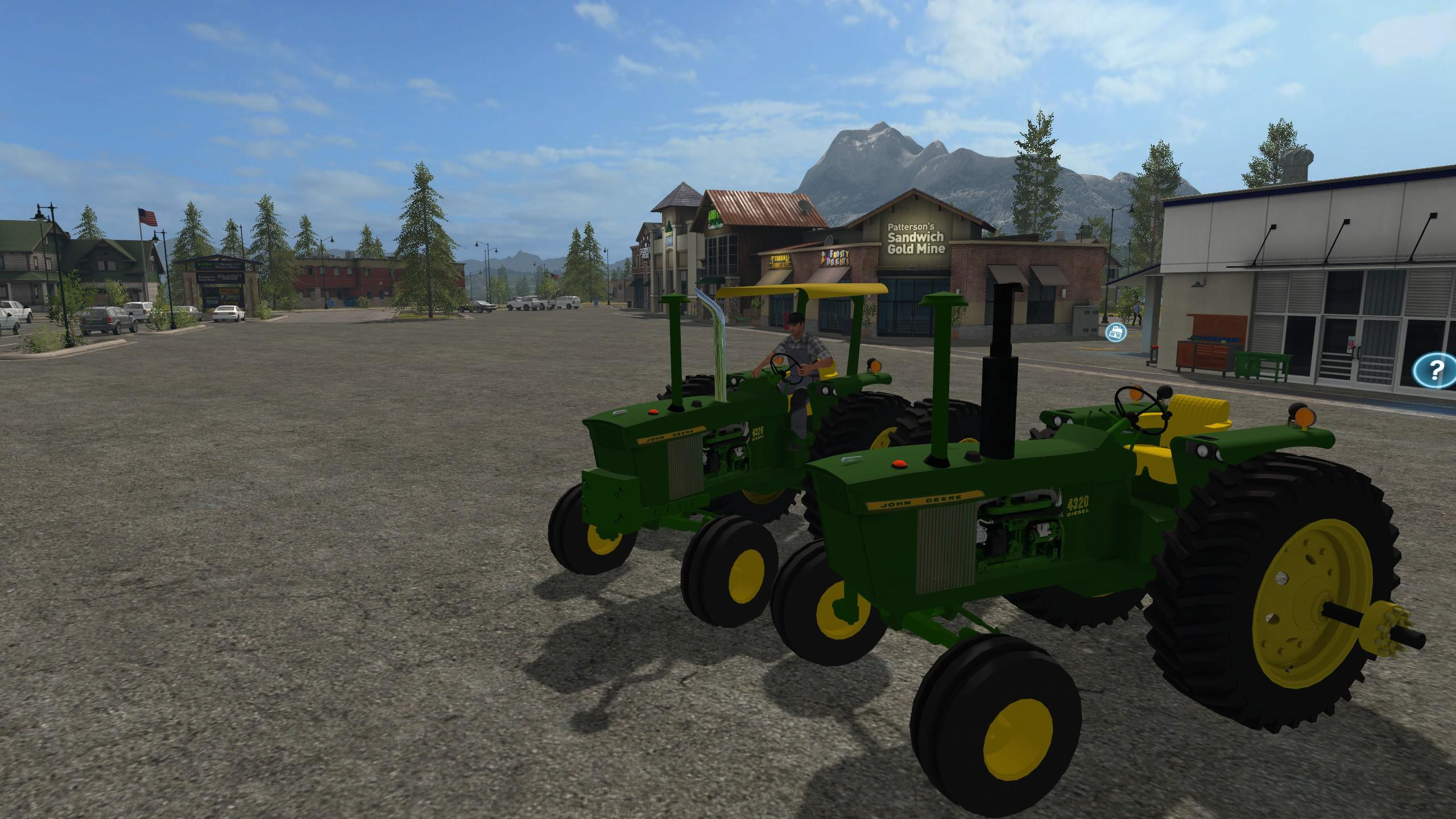 Photo of FS17 –  John Deere 4320 Serisi 2WD/FWA V3.0