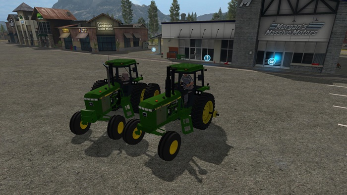Photo of FS17 – John Deere 50-55 Serisi 2WD/FWA V3.0