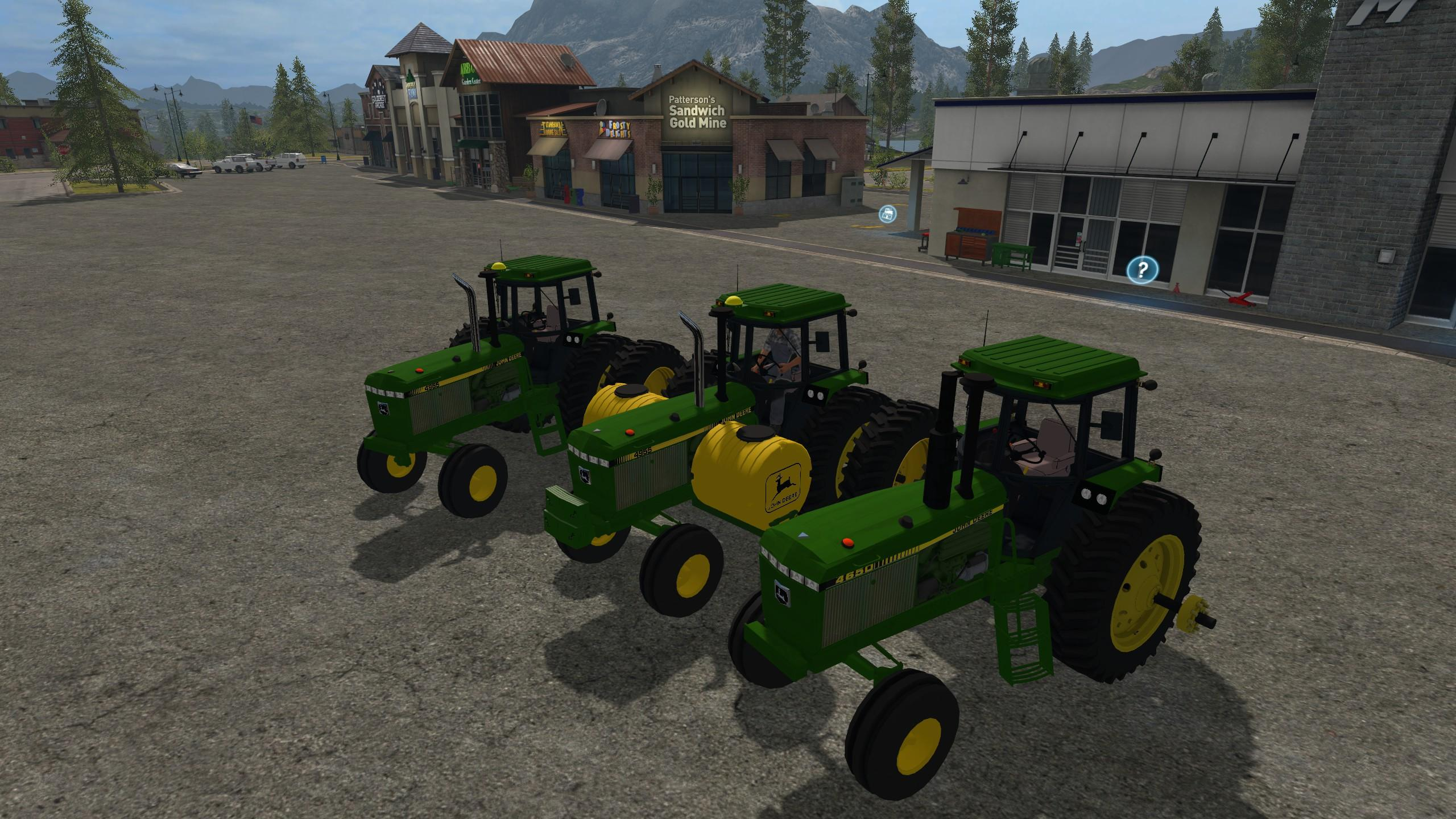 Photo of FS17 – John Deere 50-55 Serisi 2WD / FWA V3.0