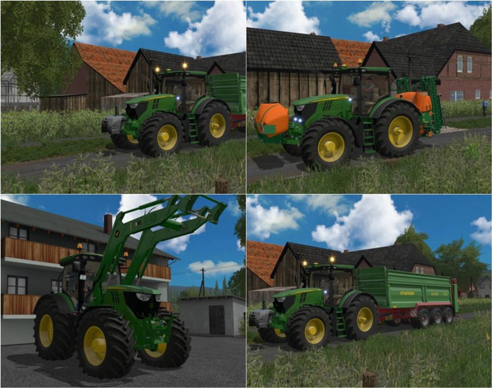 Photo of FS17 – John Deere 6135R – 6250R WIP Traktör V2.1