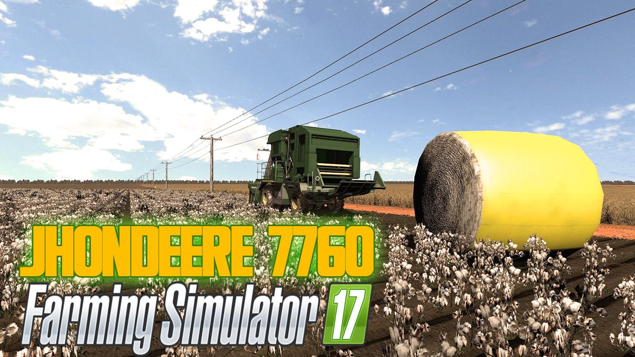Photo of FS17 – John Deere 7760 Biçerdöver V1.0