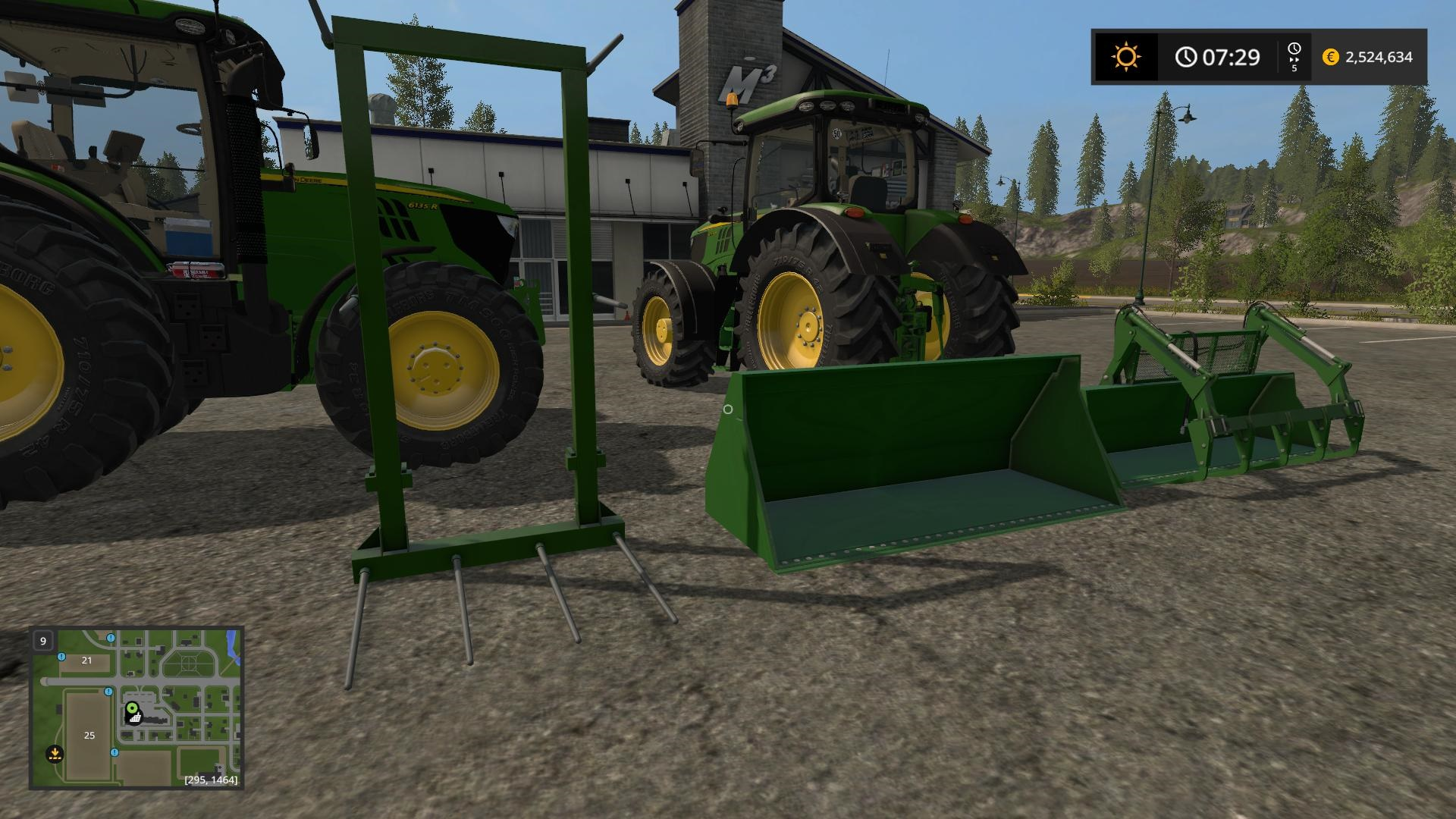 Photo of FS17 – John Deere Serisi 6155R – 6250R V2.3