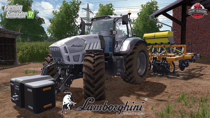 Photo of FS17 – Lamborghini R7 220 Traktör V1.0