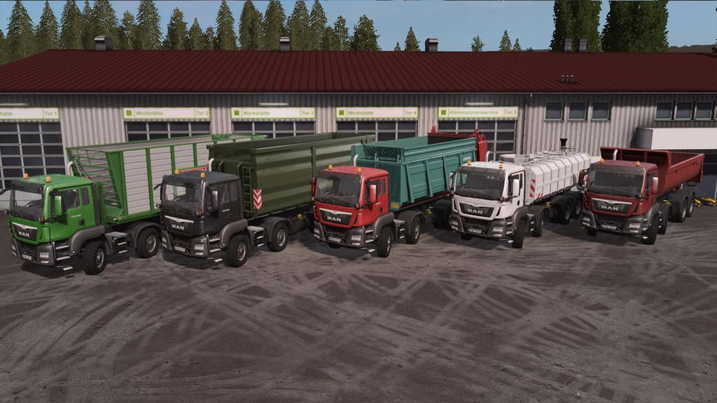 Photo of FS17 – Man Tgs Agro Paketi V1.2