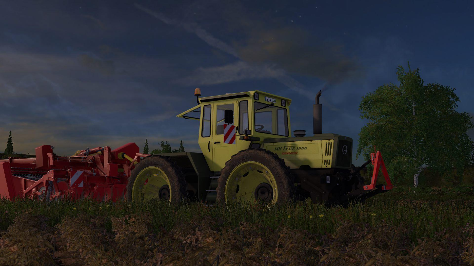 Photo of FS17 – MB Trac Paketi V1.0