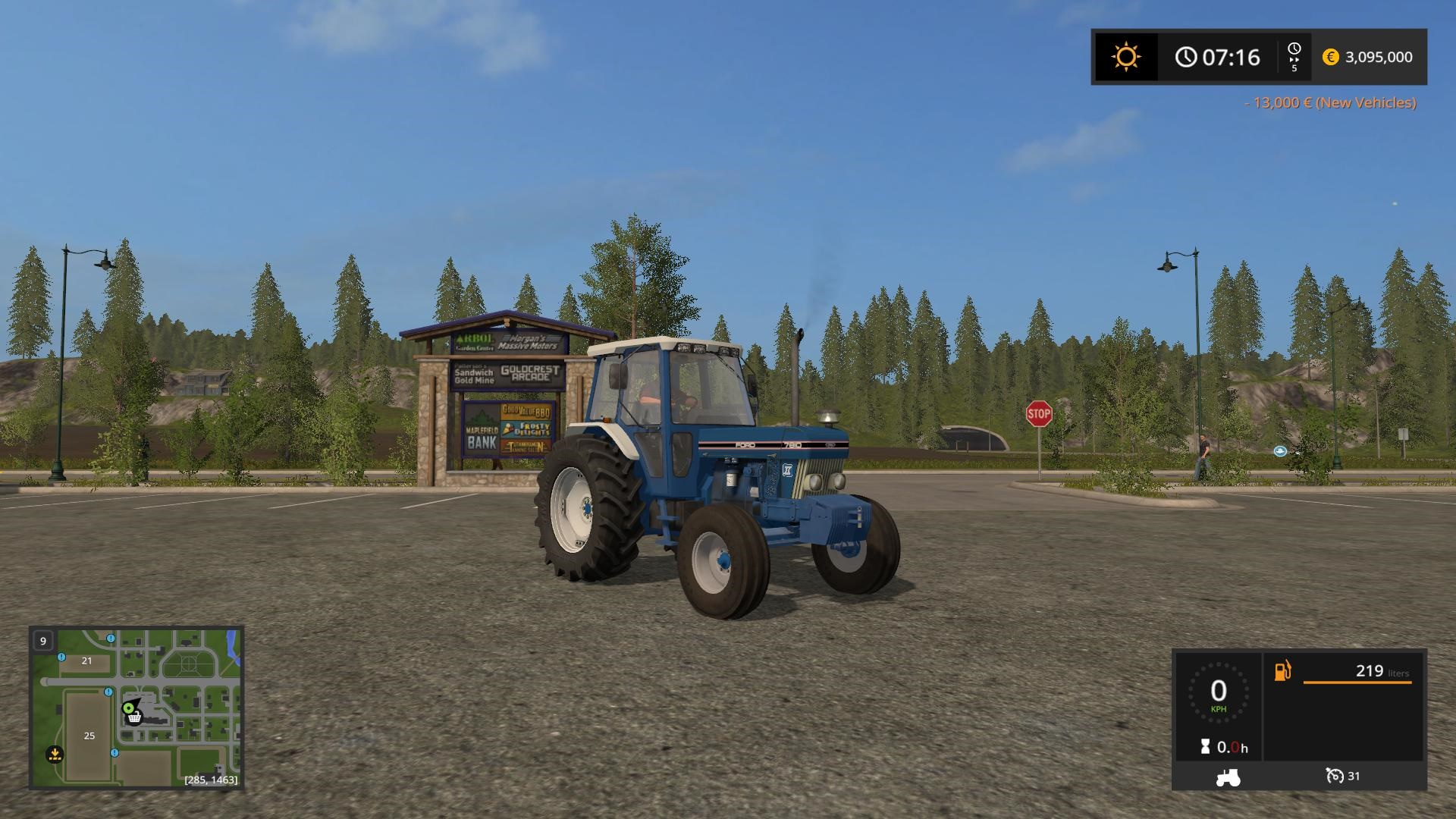 Photo of FS17 – Ford 7810 Traktör V1.0