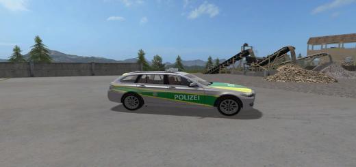 Photo of FS17 – Bmw 530 Bayern Polis Arabası V1.0