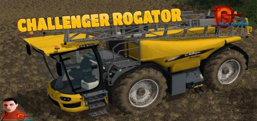 Photo of FS17 – Challenger Rogator 645D V1.0