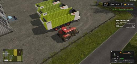 Photo of FS17 – Claas Cargos 9400 Römork V2.0