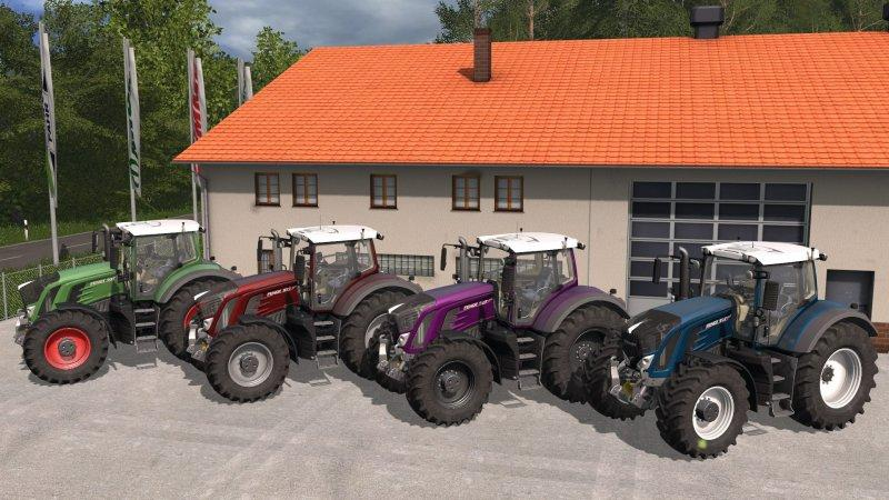 Fs17 Fendt 900 Traktor Metalik Boya V1 Fsdestek Farming