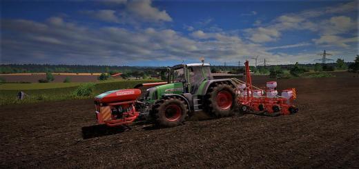 Photo of FS17 – Fendt Vario 818 Tms Traktör V1.0