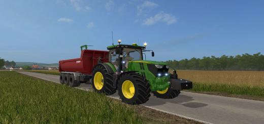 Photo of FS17 – John Deere 6R 6135 – 6250 Traktör V2.4.0