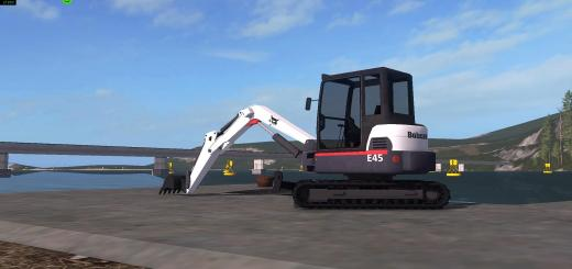 Photo of FS17 – Kst Bobcat Mini Ekskavatör V2.4.7